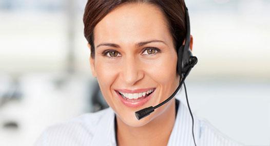 Telefonische Bestellungen und Anfragen nimmt der Kundenservice kompetent entgegen