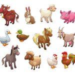 Tiere Wohngebiet
