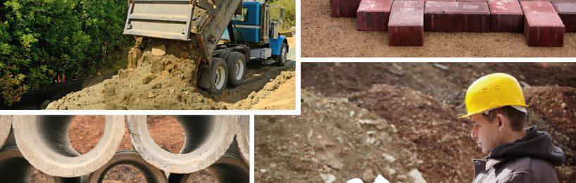 Erdbau, Entwässerung, Wegebau