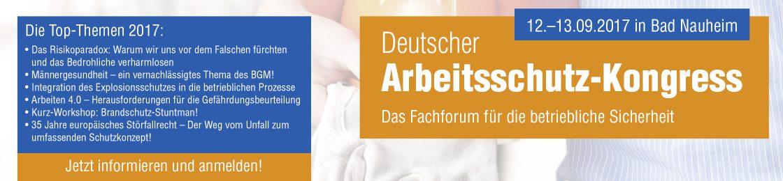 Deutscher Arbeitsschutz Kongress