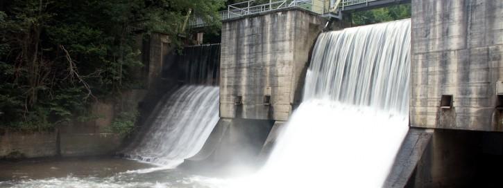 Flusskraftwerk