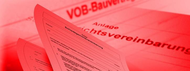 VOB-Musterbriefe und –vertraege für Handwerker und Bauunternehmer