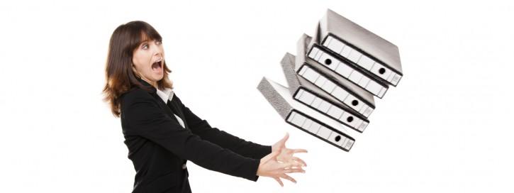 Falling folders