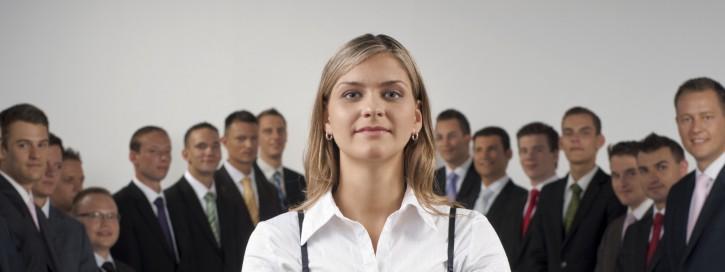 Frauenquote: Frauen in leitenden Positionen von Einkauf und Logistik