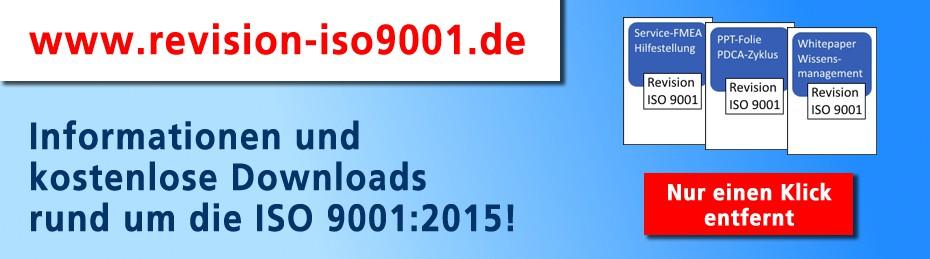 Informationen zur Revision unter www.revision-iso9001.de