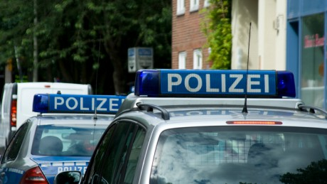 Polizei: viel Personal in Italien