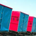 Routenzug und Gepäcktransport