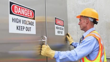 Die fünf Sicherheitsregeln der Elektrotechnik