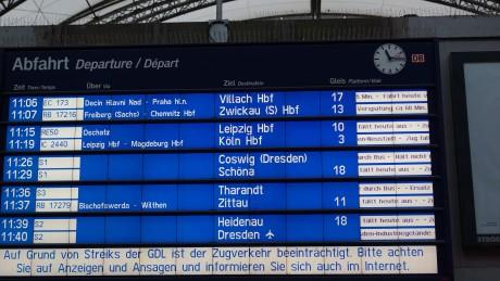 Schlichtungsgespräche: Bahn-Betriebsratsvorsitzender dringt auf schnelle Einigung