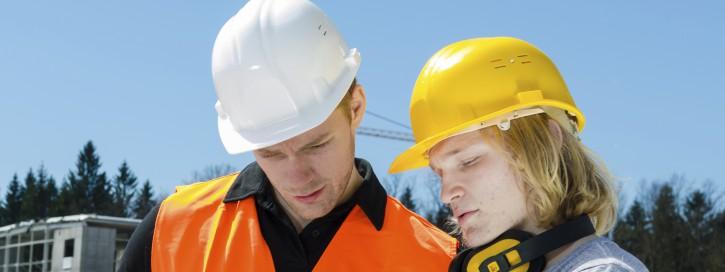 Gesundheitsschutz Bauarbeiter