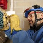 Schutzkleidung bei elektrotechnischen Arbeiten