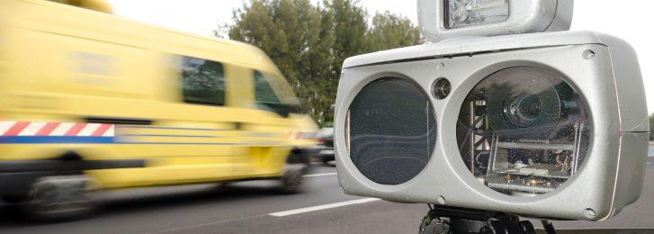 Geschwindigkeitsübertretung Kontrolle