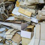 Papierabfall