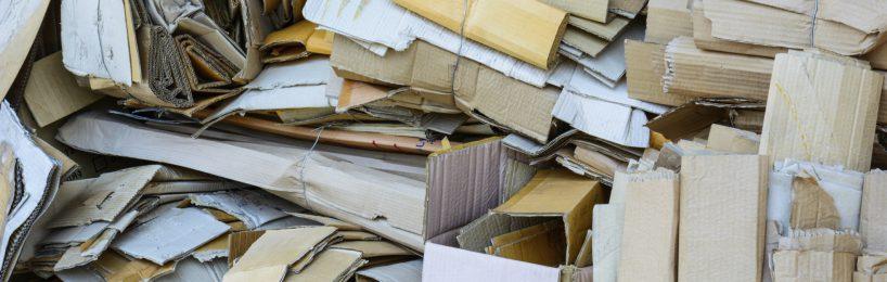 Gewerblicher Papierabfall