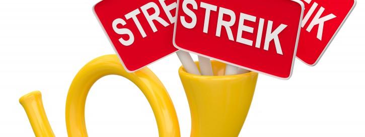 Post Streik Beamte als Streikbrecher