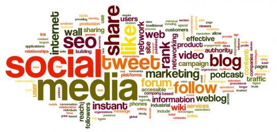 Cloud mit Social Media