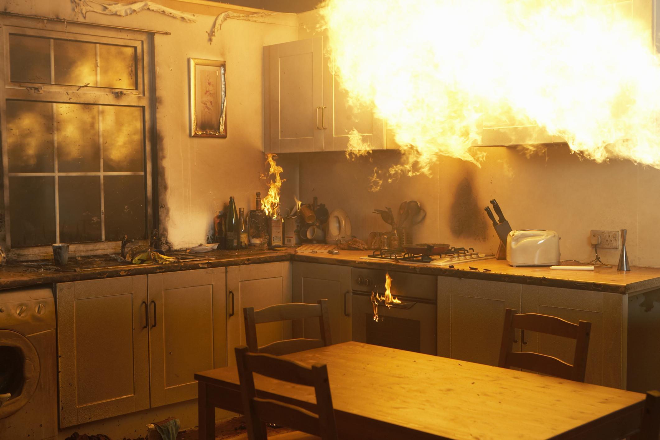 Herdwächter: die optimale Ergänzung zum Rauchmelder in der Küche