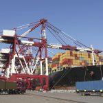 Freier Warenverkehr am Containerhafen