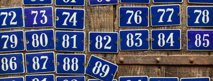 Hausnummerierungen Hausnummern