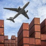 Flugzeug Container