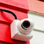 Kamera-Attrappen am Mietshaus