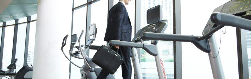 Folglich könnte der Büroarbeitsplatz der Zukunkft durchaus eine Ergometer oder ein Laufband sein.
