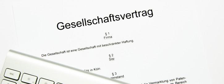 GmbH Gesellschaftsvertrag