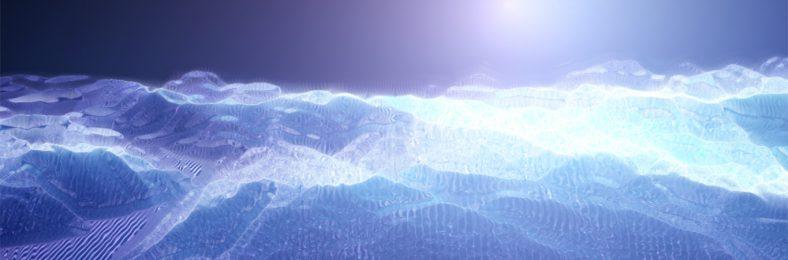 Gipfel mit Wolken