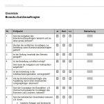 Checkliste Brandschutzbeauftragter