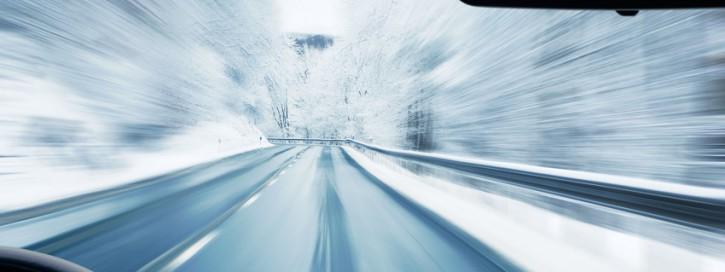 Fahren bei Eisglätte