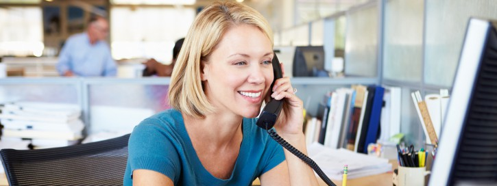 Privates Telefonieren im Büro
