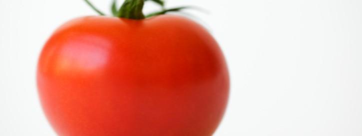 Reife Tomate