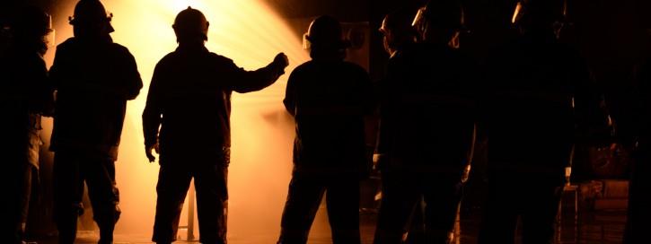 firefighter night industry.