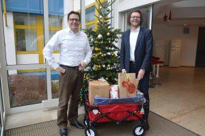 Michael Bruns und Stephan Behrens mit Wunschbaum 2015