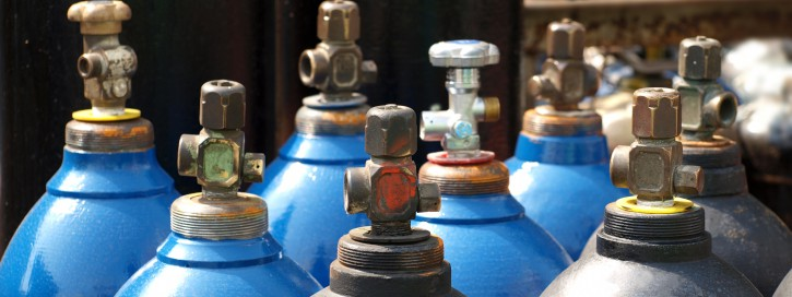 Oxygen and Gas Cylinders