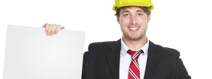 Arbeitsschutz auf Plakat