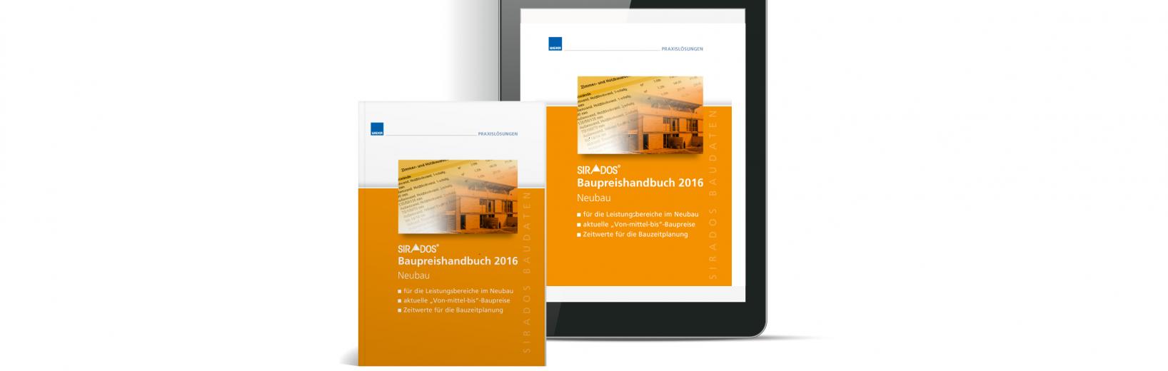 Baupreishandbuch Neubau