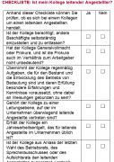 Checkliste - Ist mein Kollege ein leitender Angestellter?