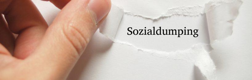 Sozialdumping