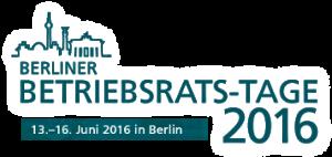 Die Berliner Betriebsrats-Tage 2016