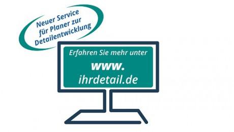 www.ihrdetail.de: der neueste Service für Planer von WEKA MEDIA