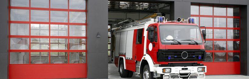 Feuerwehrfahrzeug Feuerwehrwache