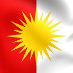 jesidische Flagge
