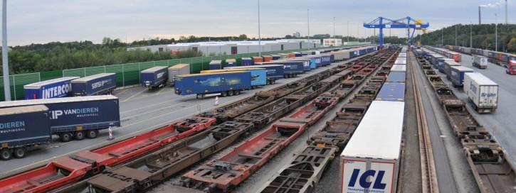 003- Intermodal - Samskip Multimodal Rail-Terminal Duisburg - Quelle Dieter Göllner