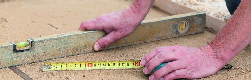 Maßtoleranzen und Unregelmäßigkeiten im Baualltag