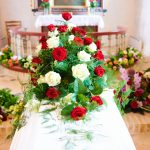opulente Beerdigung