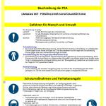 Muster-Betriebsanweisung PSA