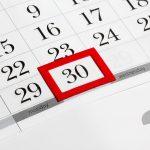 Bauzeitenplan Fristen