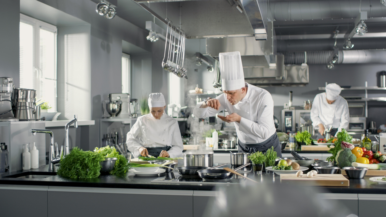 Arbeitssicherheit in der Küche