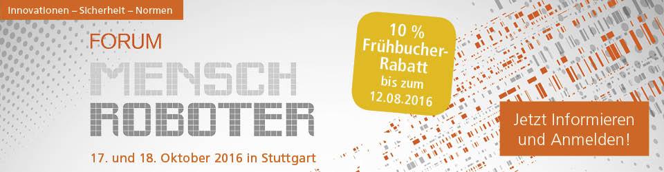 Forum Mensch Roboter in Stuttgart